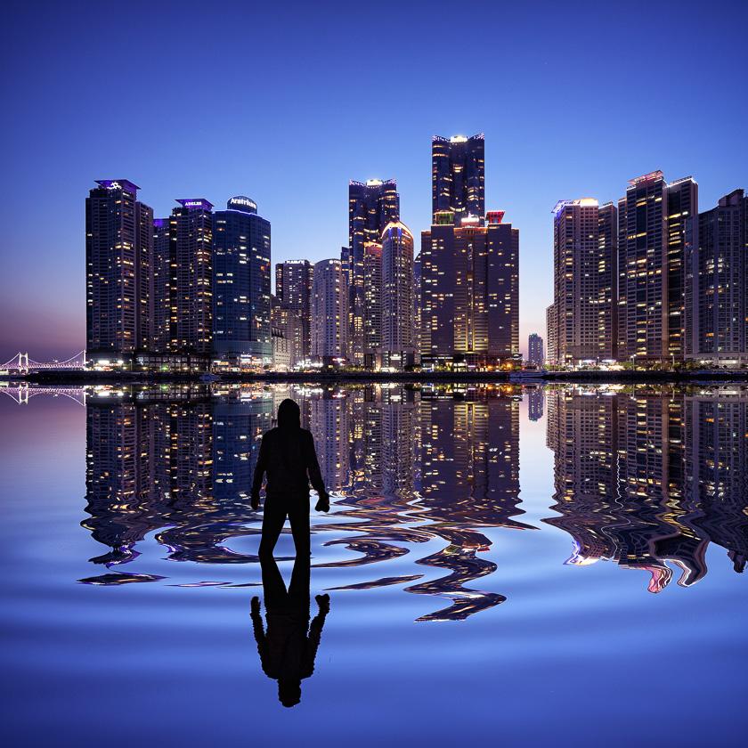 Marine City Flood | Busan, Korea