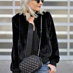 STYLE OBSESSION: FAUX FUR BOMBER JACKET