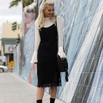 HOW TO STYLE 1 SLIP DRESS 4 WAYS