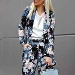 SPRING STYLE TREND: FLORAL SUIT