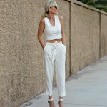 MY FAVORITE WHITE PANTS 5 WAYS