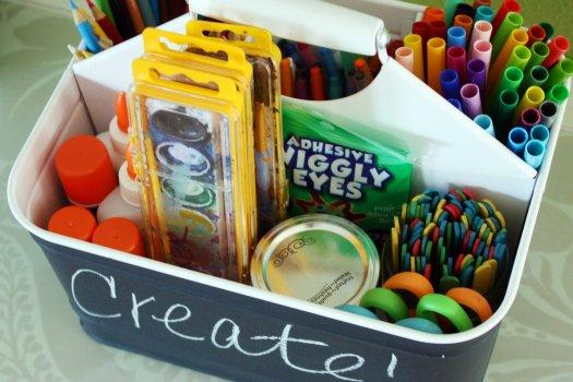Art Caddy Ideas for Kids