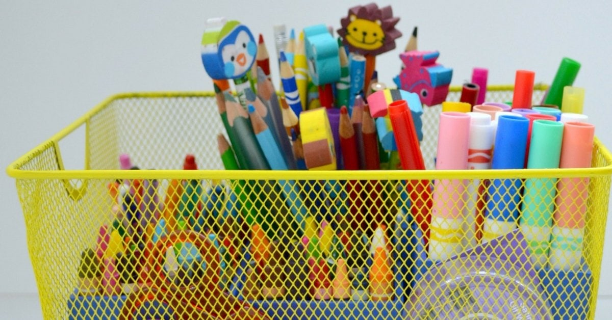 8 DIY Art Caddy Ideas That Will Organize Your Creative Mess