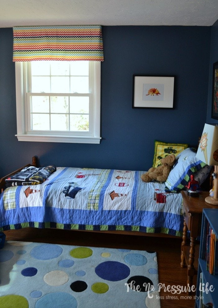 Meaningful and Eclectic Boy's Bedroom