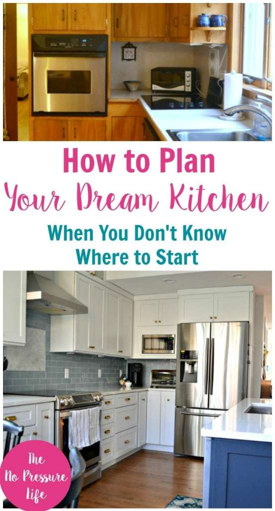 Must-read kitchen renovation tips! Great ideas to plan your dream kitchen when you don't know where to start. | kitchen renovation, dream kitchen ideas, renovation tips, kitchen remodel, kitchen renovation ideas, kitchen renovation before and after
