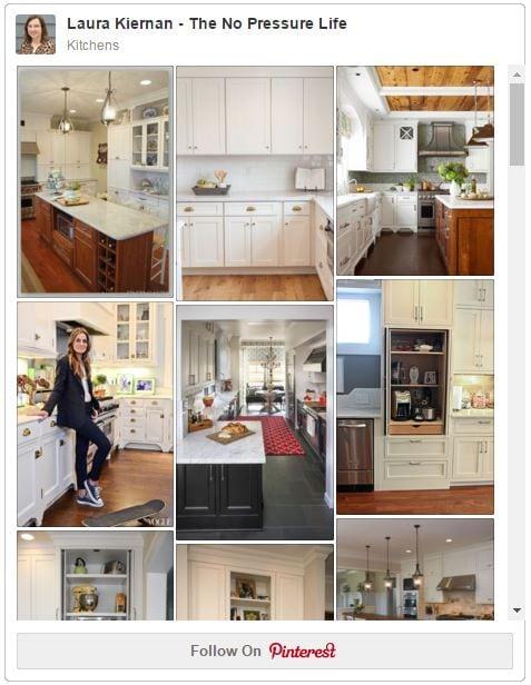 The No Pressure Life Kitchen Board on Pinterest