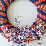 How to Make a Festive DIY Patriotic Wreath in Just 15 Minutes