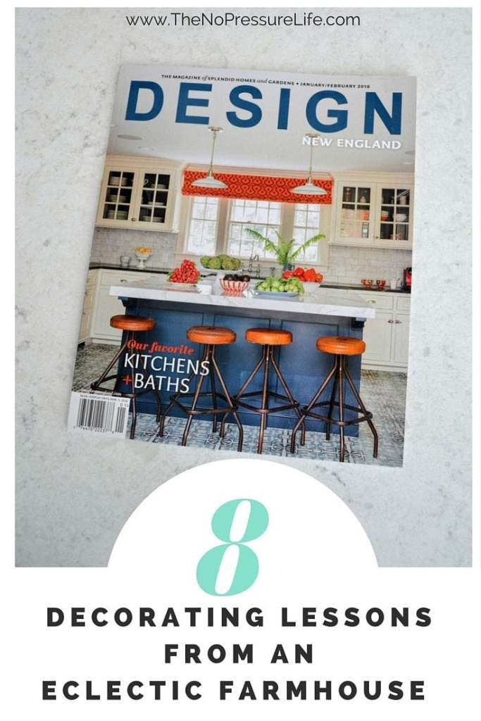 Love the look of a modern, eclectic farmhouse? Find out what we can learn from this beautiful antique home featured in Design New England magazine.