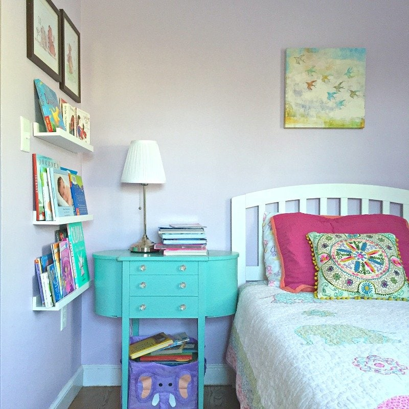 Book storage for small spaces