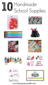 Handmade School Supplies from Etsy