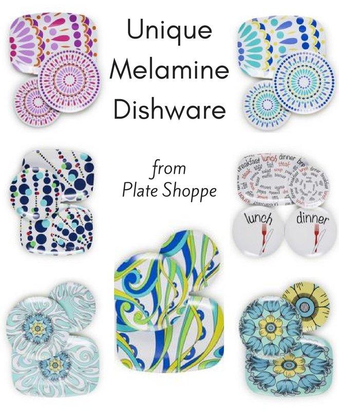 Unique Melamine Dishware from Plate Shoppe