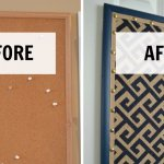 How to Transform A Boring Cork Board in 4 Easy Steps