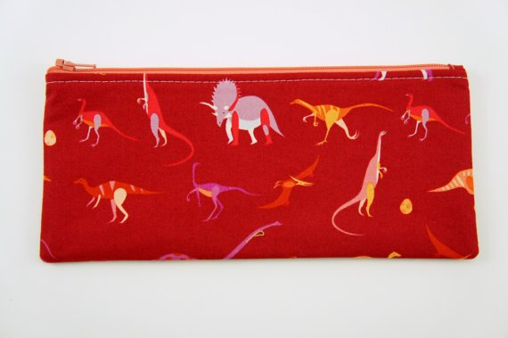 dinosaur pencil case