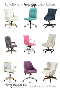 22 Functional + Feminine Desk Chairs (And How to Choose One)
