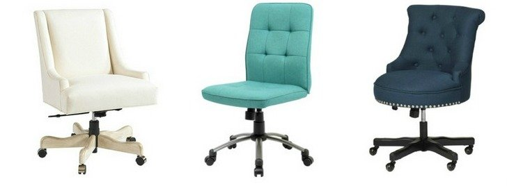 Delicieux How To Choose And Where To Buy A Feminine Desk Chair.