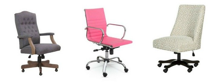 Attrayant How To Choose And Where To Buy A Feminine Desk Chair.