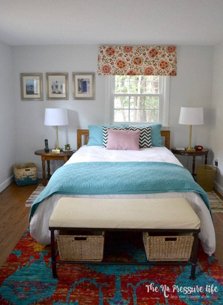 Bohemian Guest Room Makeover