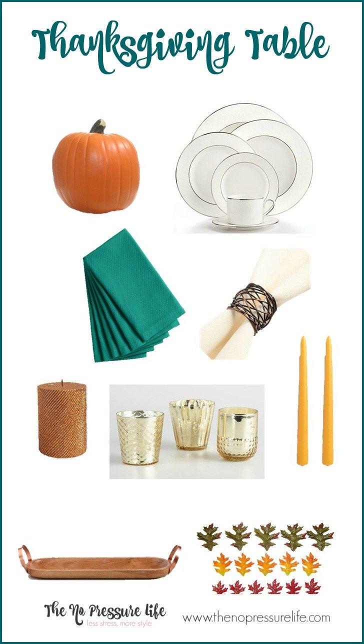 3 Simple Last-minute Thanksgiving Centerpiece Ideas