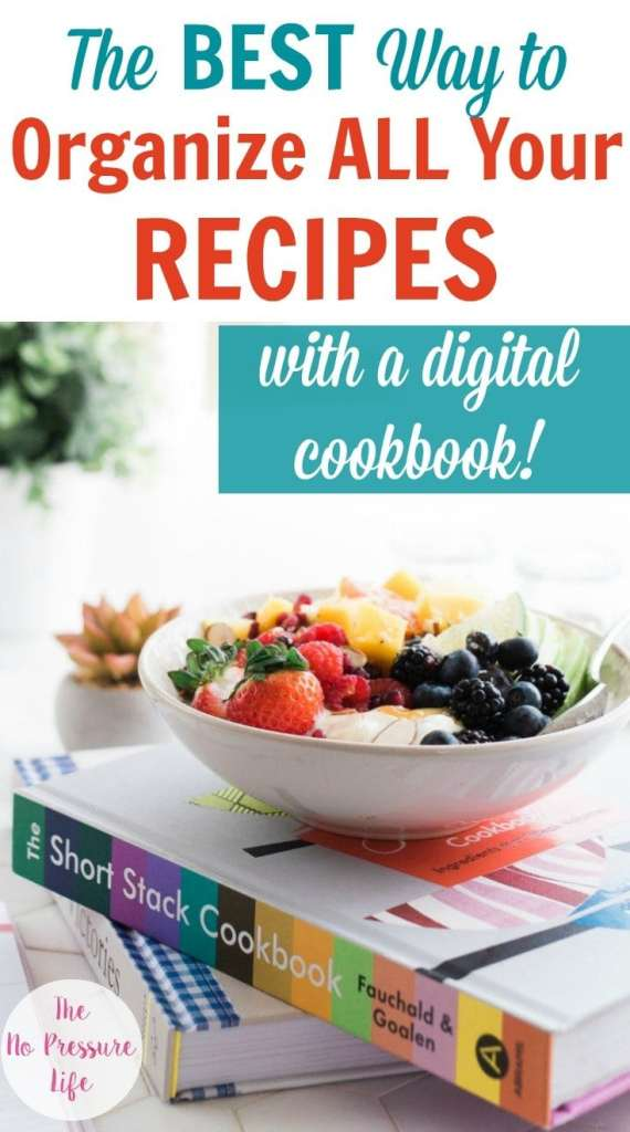 How to organize recipes electronically with a digital cookbook