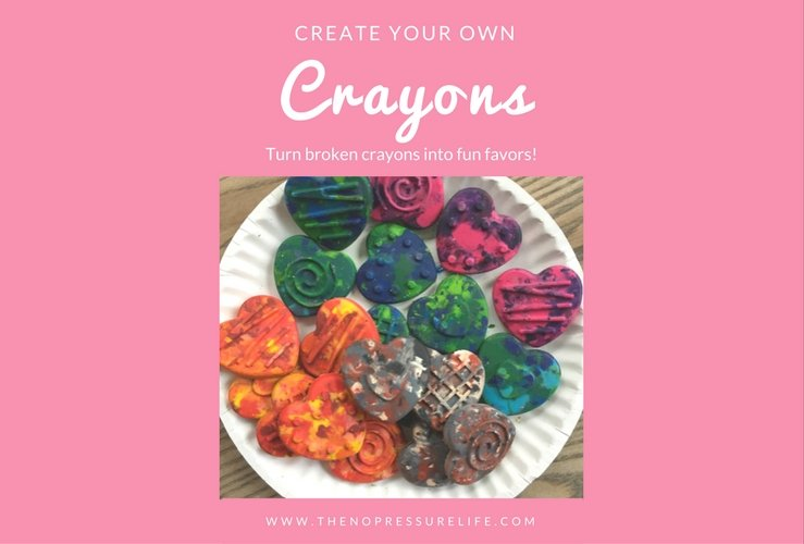 How to Transform Broken Crayons Into Perfect Party Favors