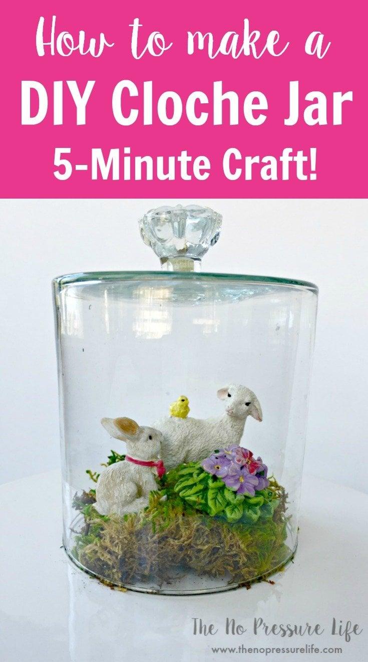 How to make a glass DIY cloche