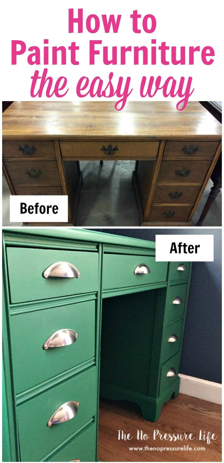 How To Paint Furniture Easily Even If You Hate Painting