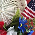 How to Make a 4th of July Wreath in 15 Minutes (Without Glue!)