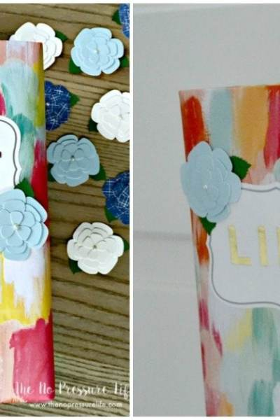 How to Make a Laundry Room Lint Bin That's Free, Cute, + Functional!