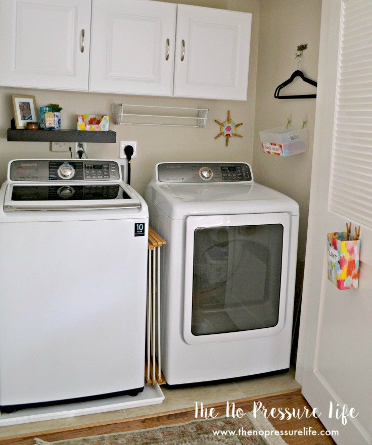 laundry closet ideas to make the most of a small laundry closet