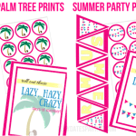 Free and Fabulous Summer Party Printables