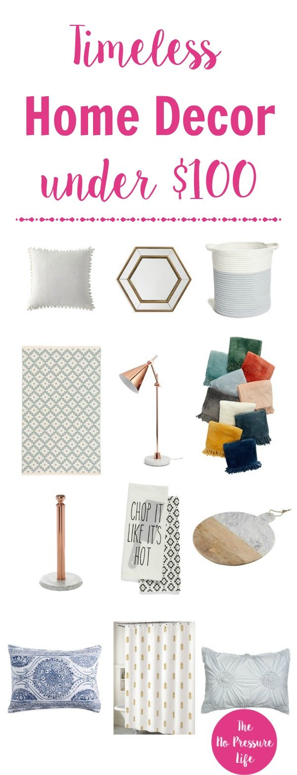 I love these budget home decor! Everything's under $100 during the Nordstrom Anniversary Sale.