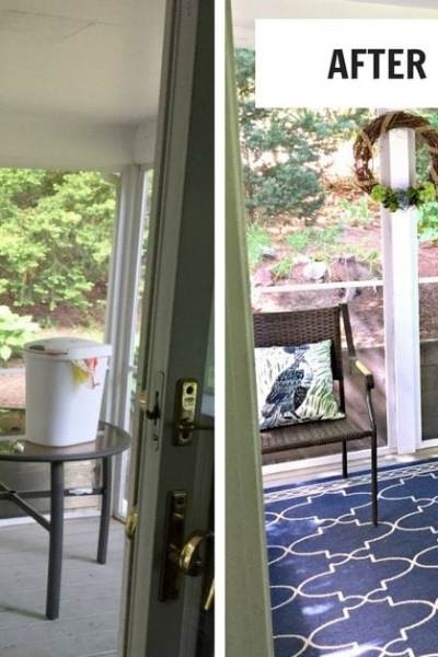 Decorating a Screened-in Porch
