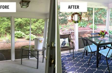 Decorating a Screened-In Porch: Our Budget Makeover