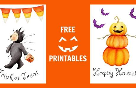 Free Halloween Printables That Are Cute, Not Scary!