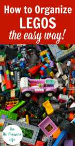 pile of messy LEGOs that need to be organized