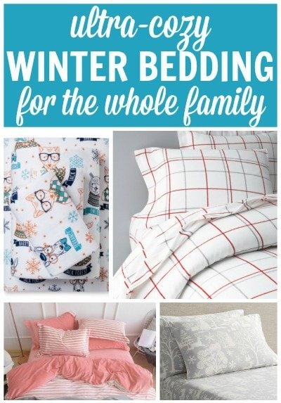 Cozy Winter Bedding That Will Keep the Whole Family Toasty!