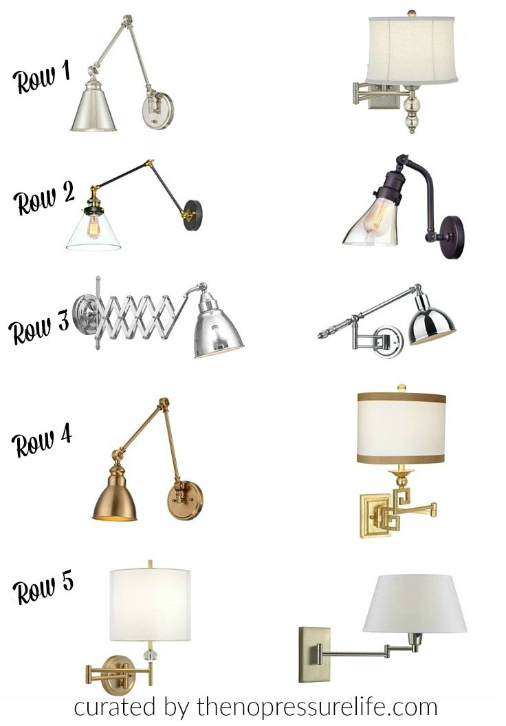 Affordable wall sconces and wall lamps