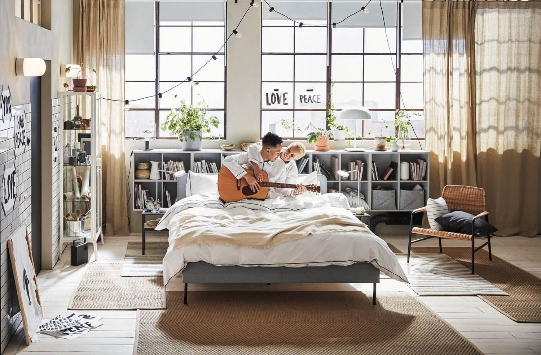 Arredi ikea per la camera da letto di una casa al mare. Ikea Catalog 2020 Get Ready For A Fresh Start The Nordroom