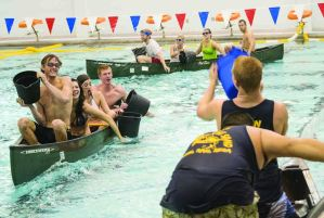 Sink or swim: Canoe Battleship hits the pool for round two