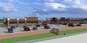 Ground broken for retail complex