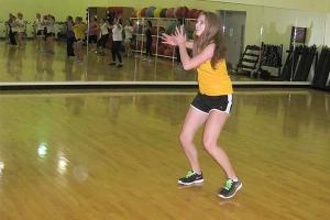 Zumba instructor fuses fitness and fun in exercise dance class