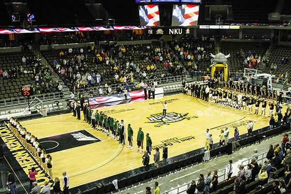 Northern Kentucky's home basketball games sometimes look like an empty gym, but looks can be deceiving, leading the A-Sun in attendance last year for men's basketball with an average of 3,551 people.