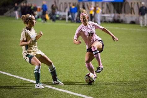 Norse women's soccer misses opportunities and lose to Jacksonville 1-0