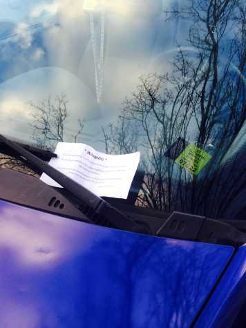 SGA aims to extend grace period for parking tickets
