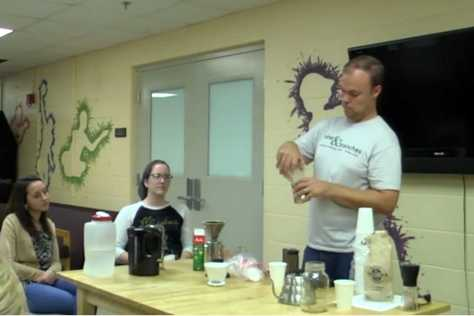 VIDEO: Vine and Branches host coffee seminar
