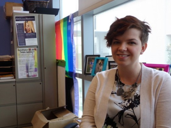 Rae Loftis identifies in the LGBTQ community. National Coming Out Day was Oct. 11 this year.