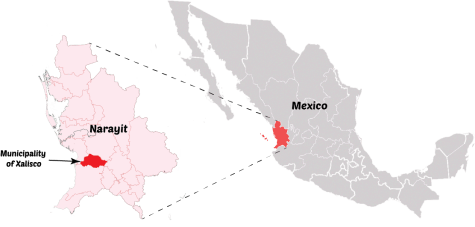Xalisco, Nayarit is a small part of Mexico that Quinoes attributes to a booming black tar heroin trade.