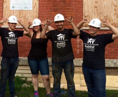 GALLERY: New beginnings: NKU's Habitat for Humanity helps build community