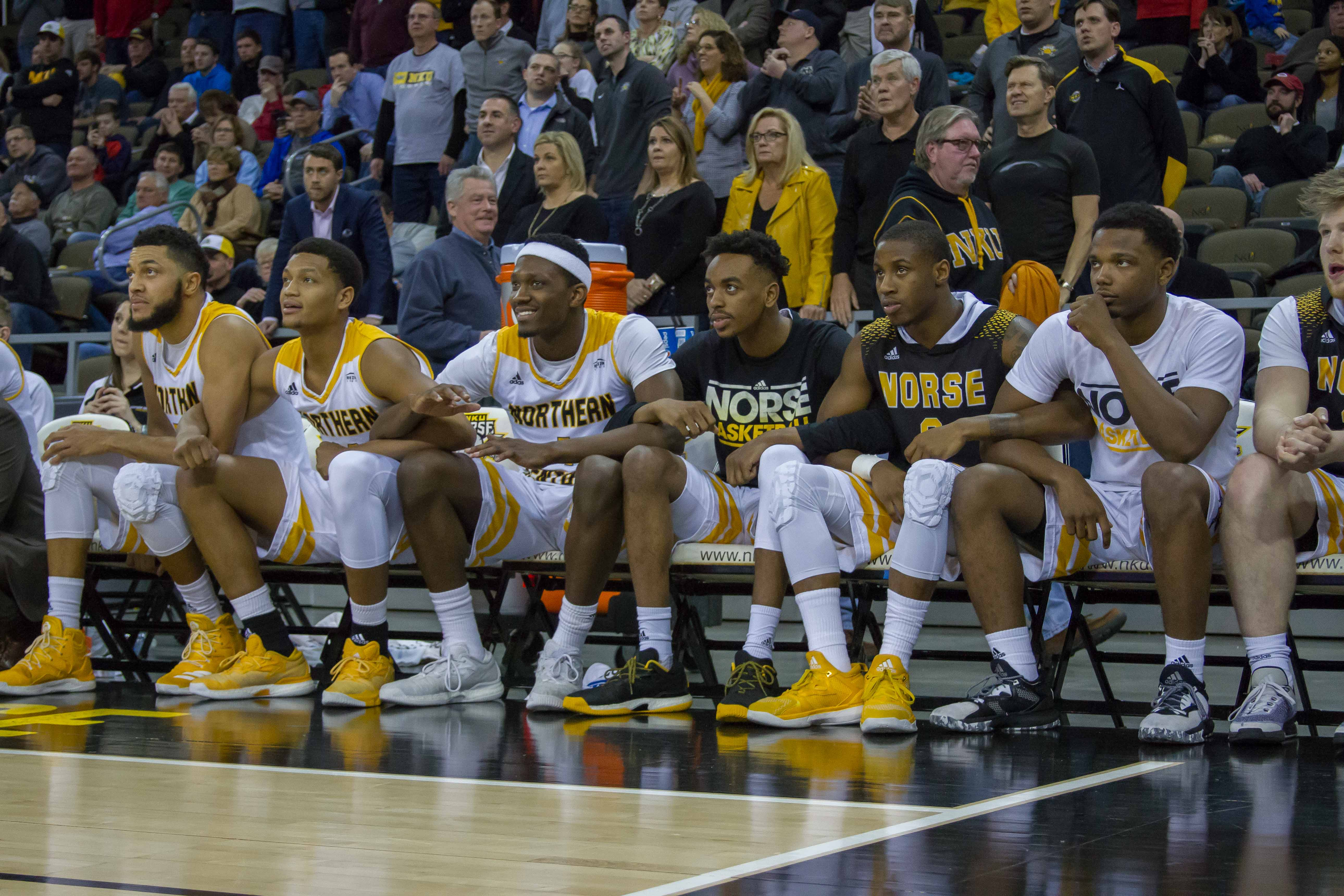 NKU drew its second-largest crowd of the season Thursday as the Norse defeated Green Bay.