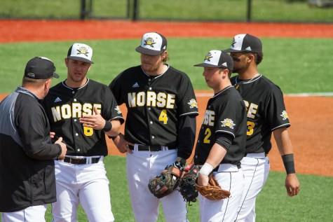 Norse use hot bats to defeat Bulldogs